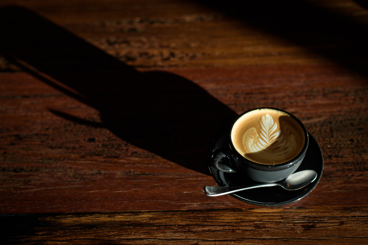 Slideshow coffee shot